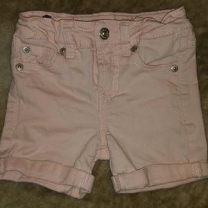 7 For All Mankind Peach Shorts
